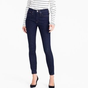 J. Crew Classic High-rise Toothpick Skinny Jeans